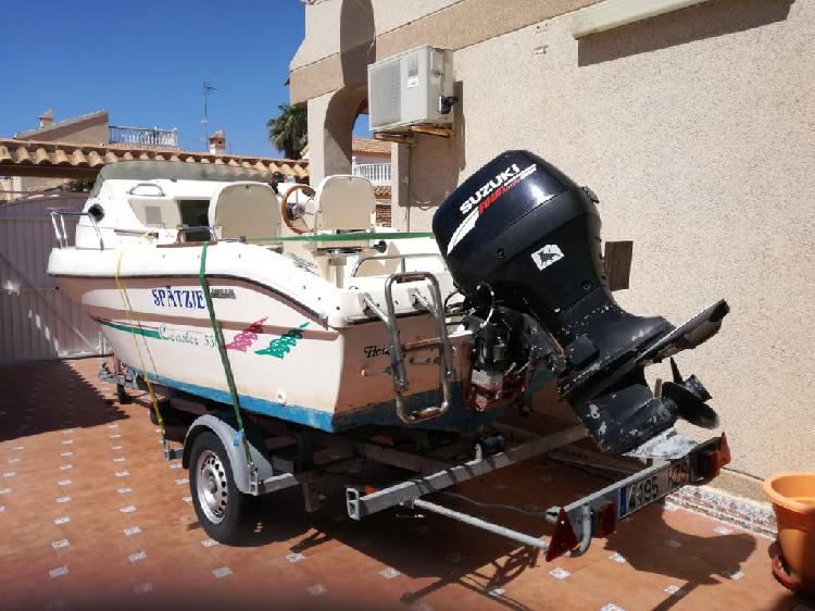 Barco a motor. 5,30 metro