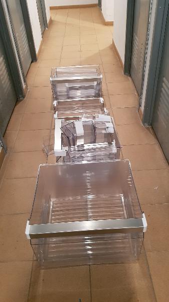 Bandejas y baldas de frigorifico americano