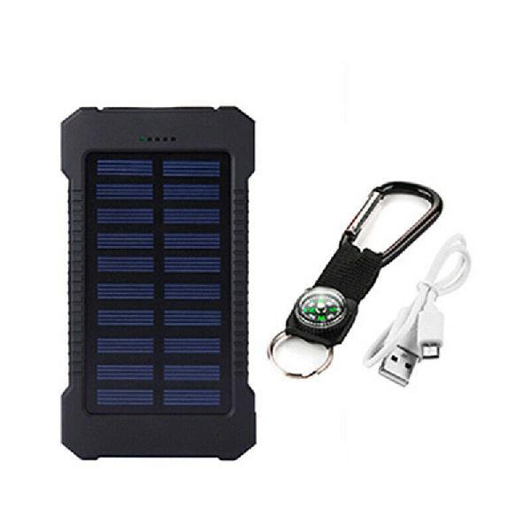Bateria externa 9 amperios. solar. power bank