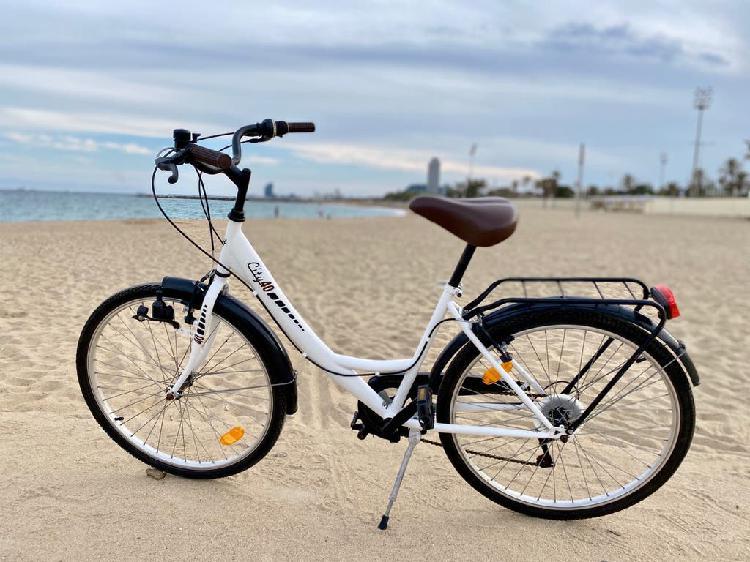 Bici paseó como nueva