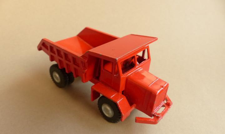 Camion joal dumper rojo años 60