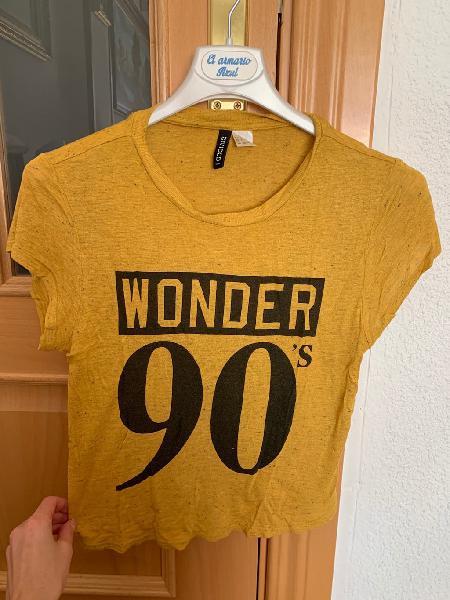 Camiseta crop talla s/m