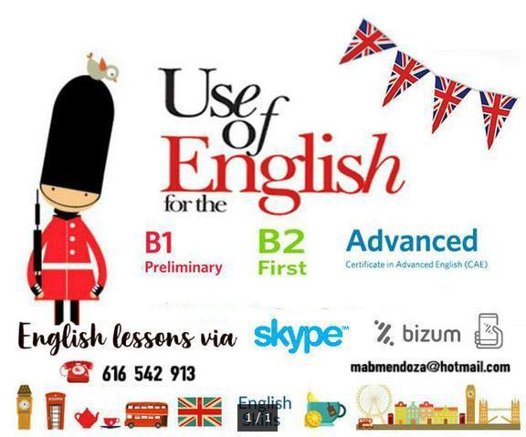 Clases de inglés online-skype