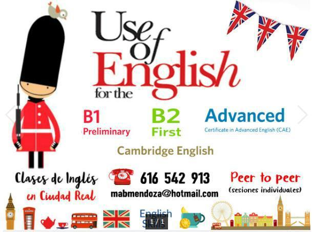 Clases de rephrasing-use of english