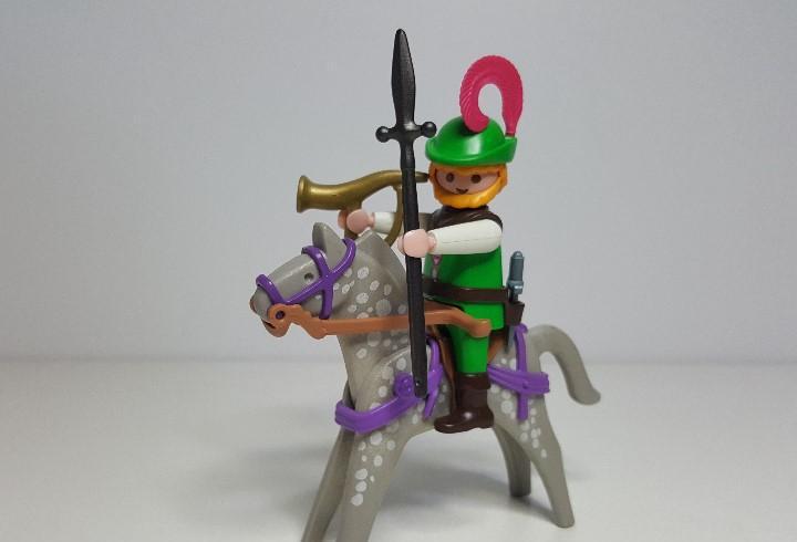 Cazador monteria playmobil 3628 6564 caballero medieval coto