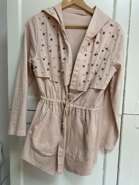 Chaqueta algodón rosa