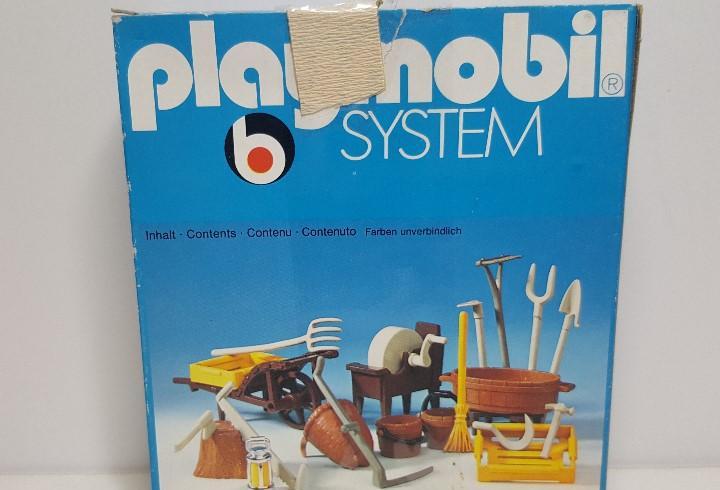 Dificil set herramientas playmobil 3297 apero labranza