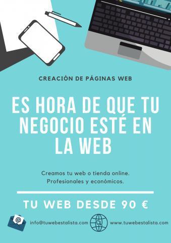 Empresa de diseño de páginas web y tiendas online