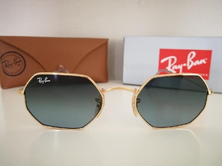 Gafas de sol rayban octogonal nuevas