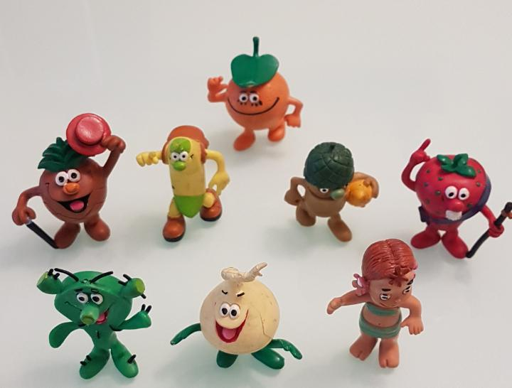 Increible lote de figuras los fruitis colección completa
