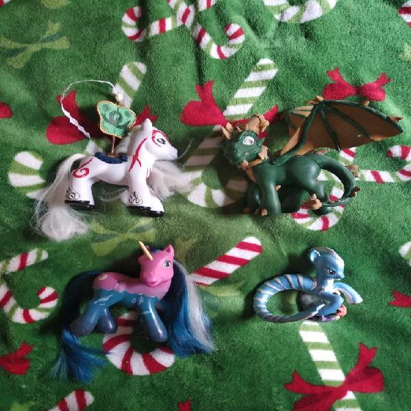 Lote custom my little pony, mi pequeño pony