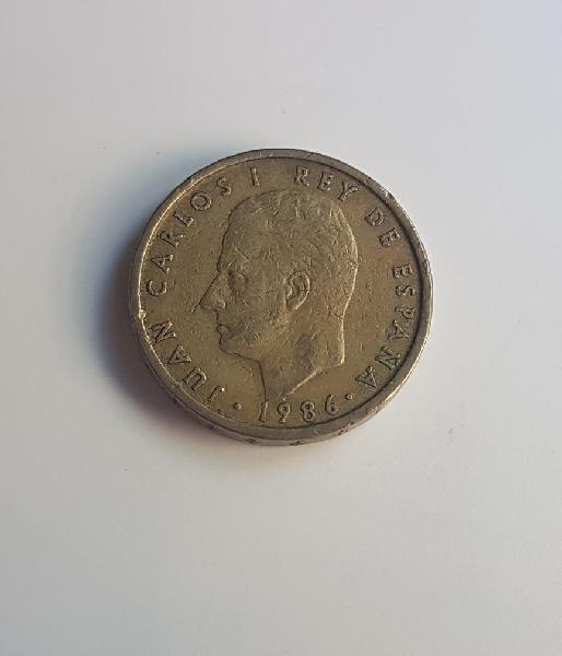 Moneda 100 pesetas 1986 j.carlos i rey de españa