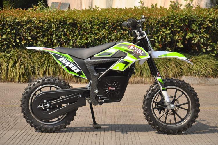 Moto cross mini eléctrica 500w