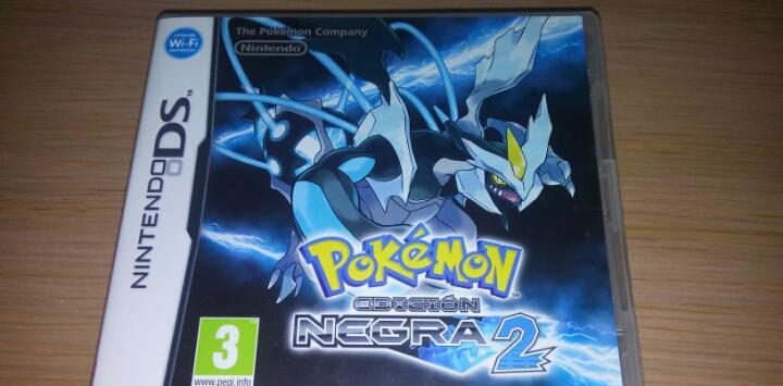 Nintendo ds pokemon edicion negra 2 pal esp