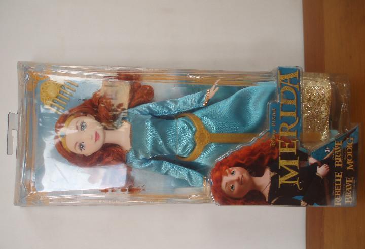 Princesa merida brave. nueva en caja. descatalogada. pixar