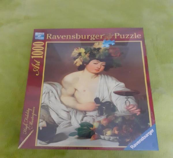 Puzzle 1000 ravensburger caravaggio baco 50 x 70 cm. nuevo