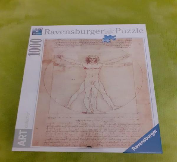 Puzzle 1000 ravensburger leonardo da vinci el hombre de
