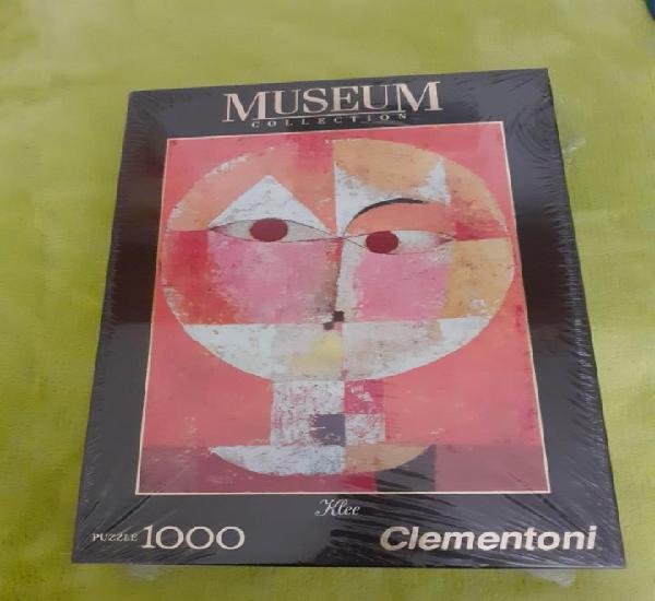 Puzzle clementoni 1000 serie museum klee senecio. nuevo 69 x