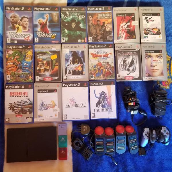 Pack play station 2 (ps2)