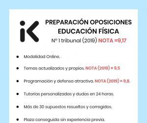 Preparación oposiciones - educación física