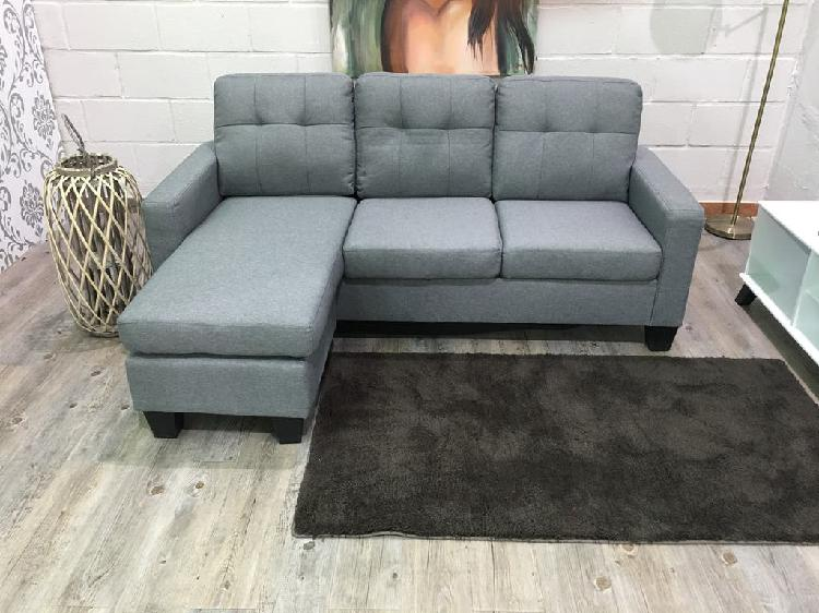 Sofá new tapizado de 3 plazas