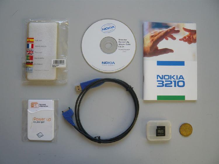 Tarjeta memoria nokia 64mb, cable ca-42 y más