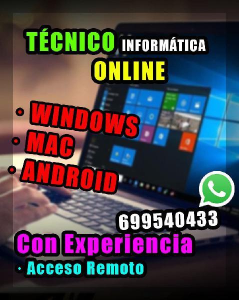 Técnico informático online