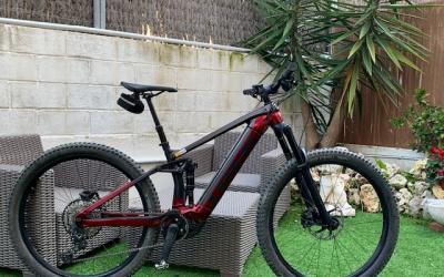 Vendo bicicleta electrica