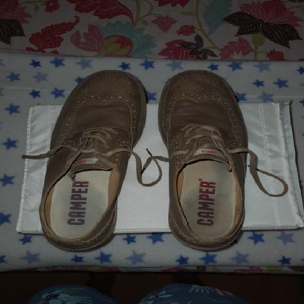 Zapatos camper piel