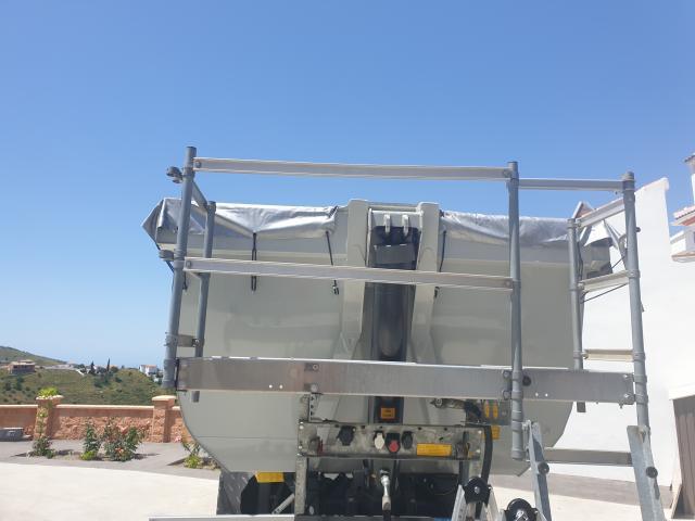 Balcon bañera aluminio nuevo adaptable a todas las bañeras