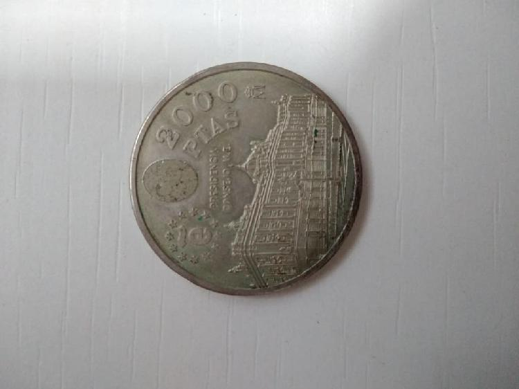 Moneda plata 2000 ptas 1995