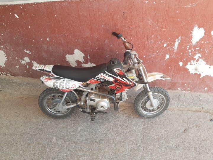 Pit bike 110cc semiutomatica