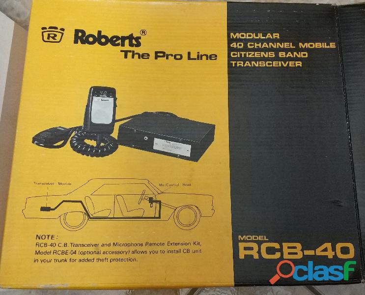 Vendo 6 emisora a 10 € cada una de radioaficionado Roberts RCB 40 1