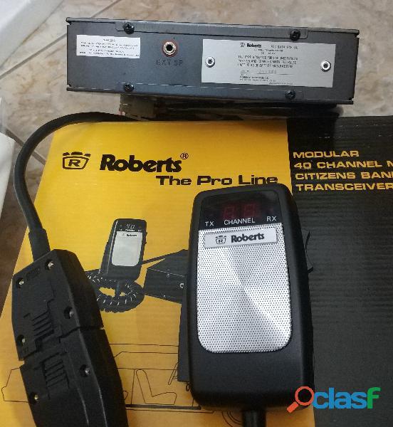 Vendo 6 emisora a 10 € cada una de radioaficionado Roberts RCB 40 2