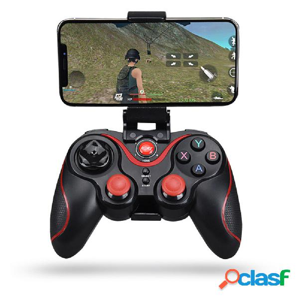 Bakeey wireless bluetooth gamepad control remoto joystick game controller para pc android smartphone