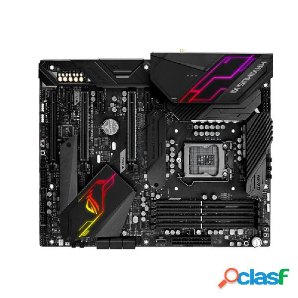 Asus rog maximus xi hero republic of gamers intel® z390 chip atx motherboard ddr4 4400mhz 802.11ac wi-fi gaming mainboar