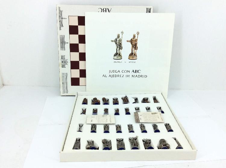 10 % fichas ajedrez otros metal