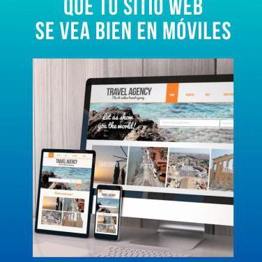 Sitio web adaptado a móviles