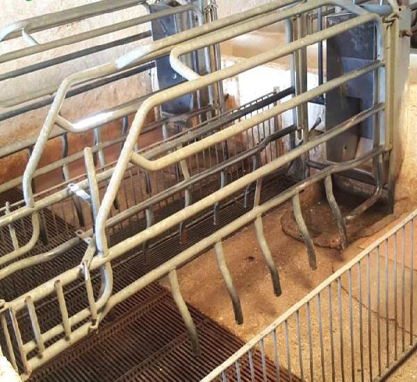 Venta de 21 parideras desmontables acero galvanizado en