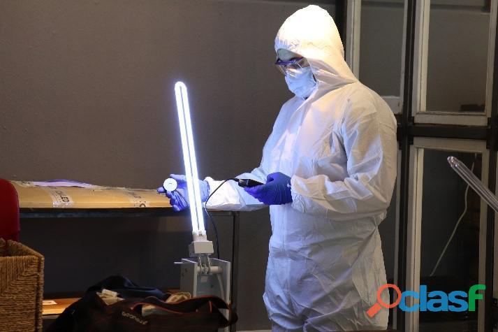 sistema de desinfección personalizado UV C