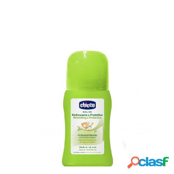 Chicco natural protection roll-on anti mosquito refrescante 60ml