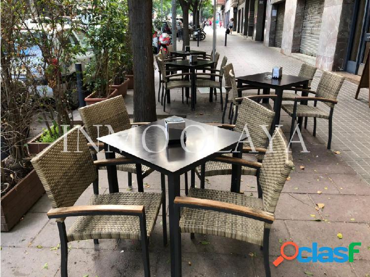 Traspaso restaurante 2 salidas d humos y terraza