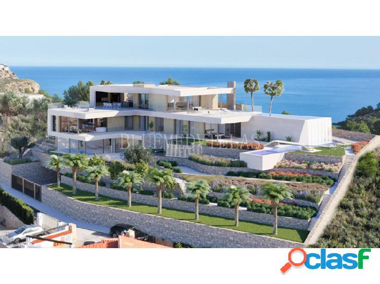 Proyecto de villa de lujo con 6 dormitorios en venta en moraira, alicante