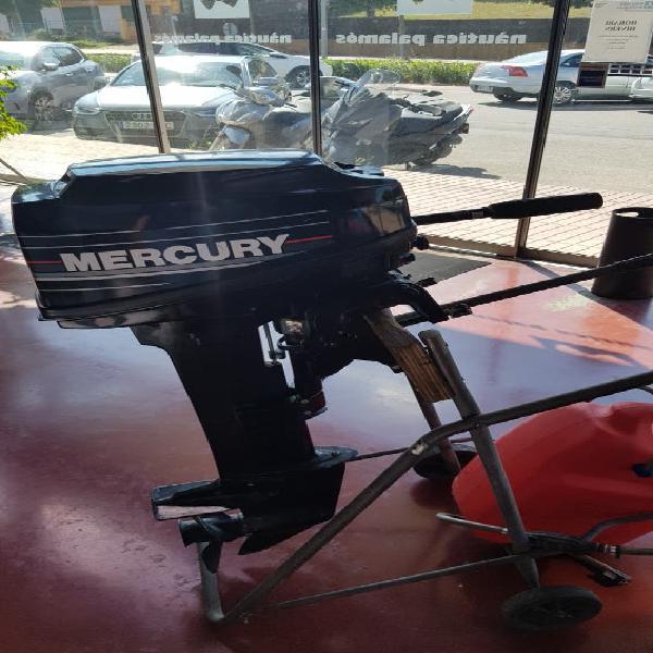 Motor fueravorda mercury 15cv