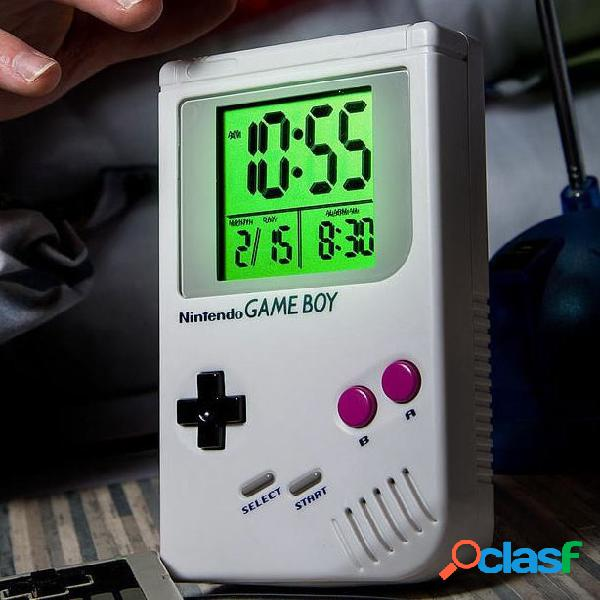 Reloj despertador game boy