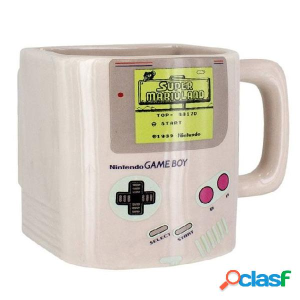 Taza galletero game boy.