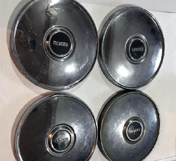 4 tapacubos / seat (124 - 127 - 131 - 132 - 1430) 24 cm. /