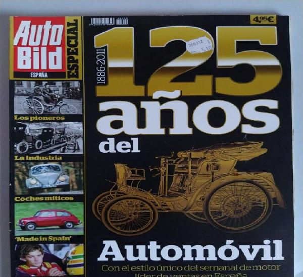 Auto bild españa especial 125 años de automóvil año 2011