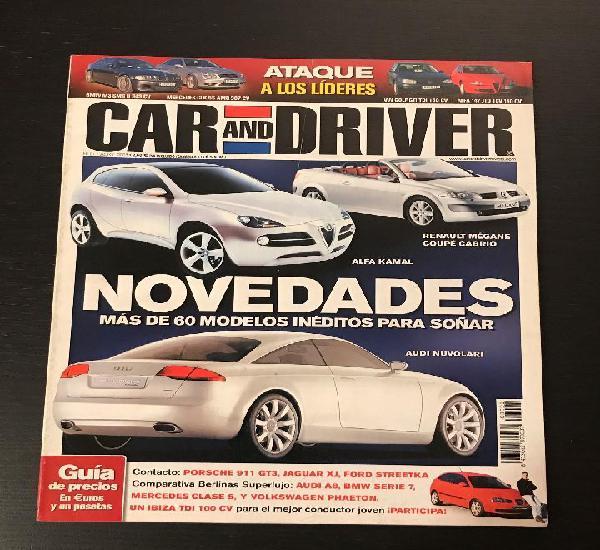 Car and driver nº 91 - bmw m3 smg ii mercedes clk 55 amg