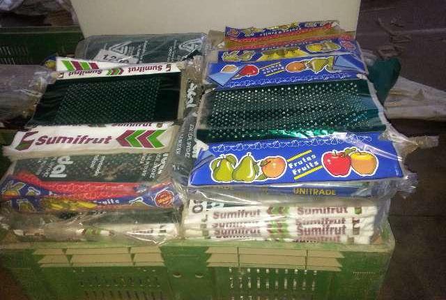 Cubres para cajas de fruta